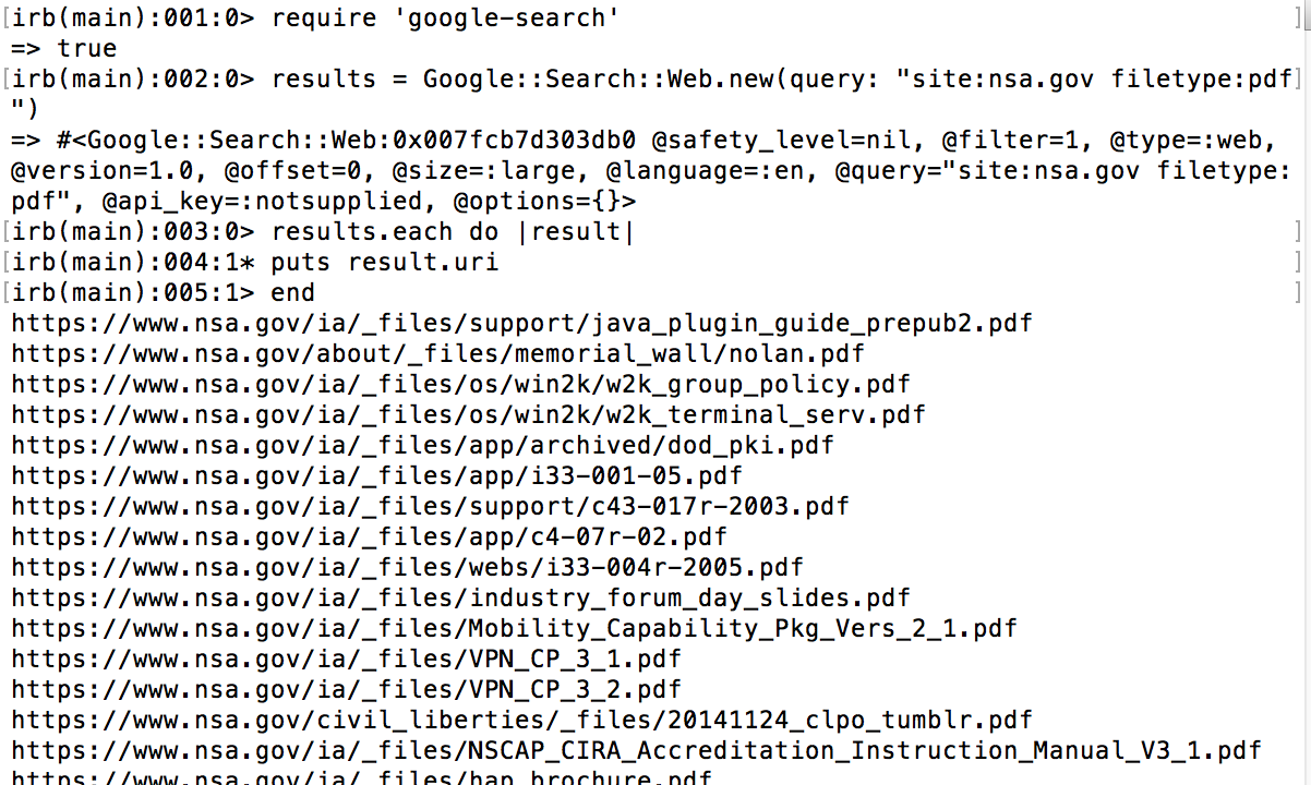 Are you leaking metadata? Here's a simple example to make your own